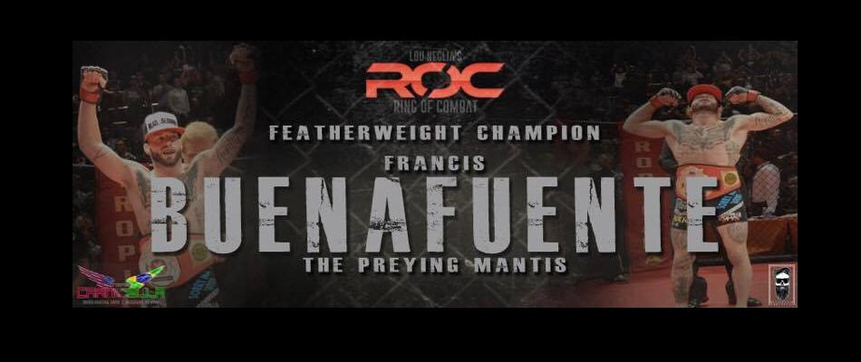 Resilient, durable Frankie 'Praying Mantis' Buenafuente defends at ROC 57