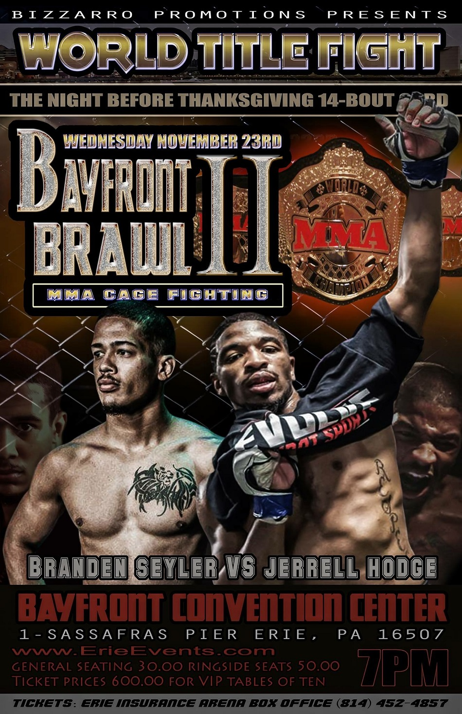 Bayfront Brawl II - Thanksgiving Eve