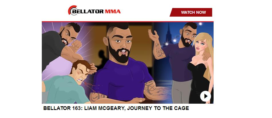 Bellator 163: Liam McGeary, Journey to the Cage