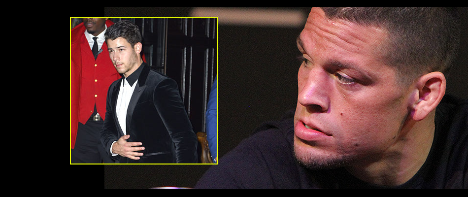 Nate Diaz:  UFC didn't want me at UFC 205, gave Nick Jonas my seat