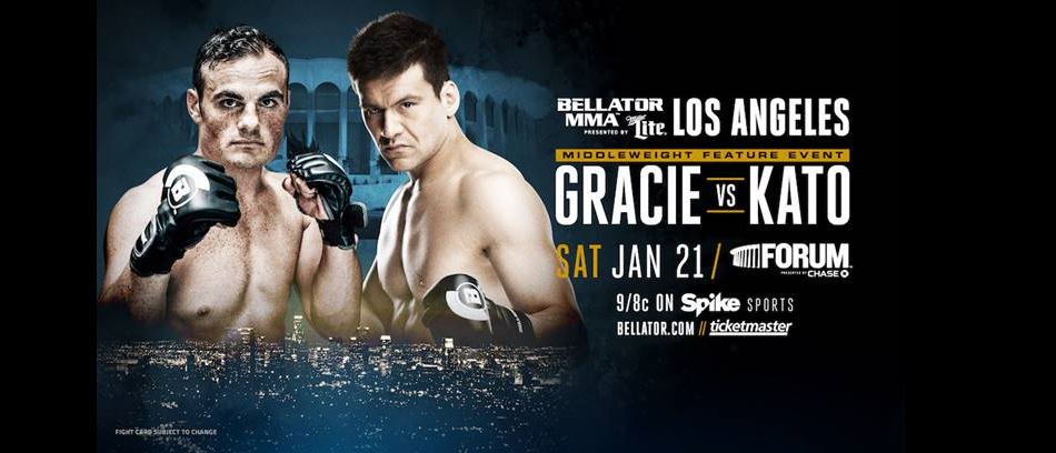 Ralek Gracie Takes on Dangerous Striker Hisaki Kato at Bellator 170 in Los Angeles
