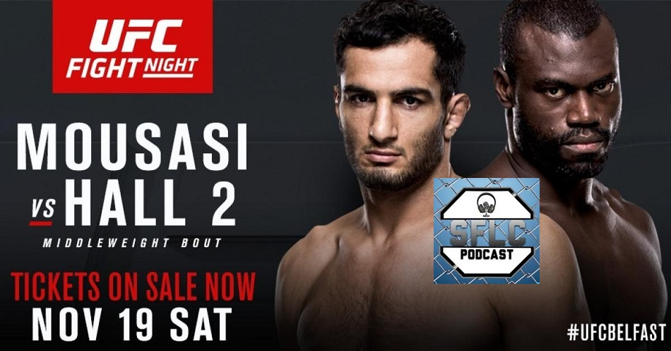 Gegard Mousasi, UFC Fight Night 99, Uriah Hall
