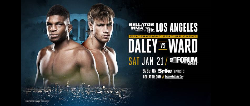 Hard hitters Paul Daley and Brennan Ward clash in Los Angeles