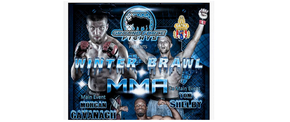 Ground Force Fights - Winter Brawl headed to Batavia, NY - December 17