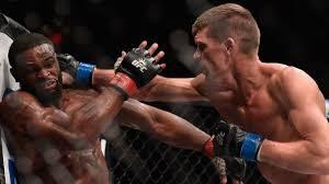 Stephen Wonderboy Thompson vs. Tyron Woodley - UFC 205 - Photo courtesy FOX Sports