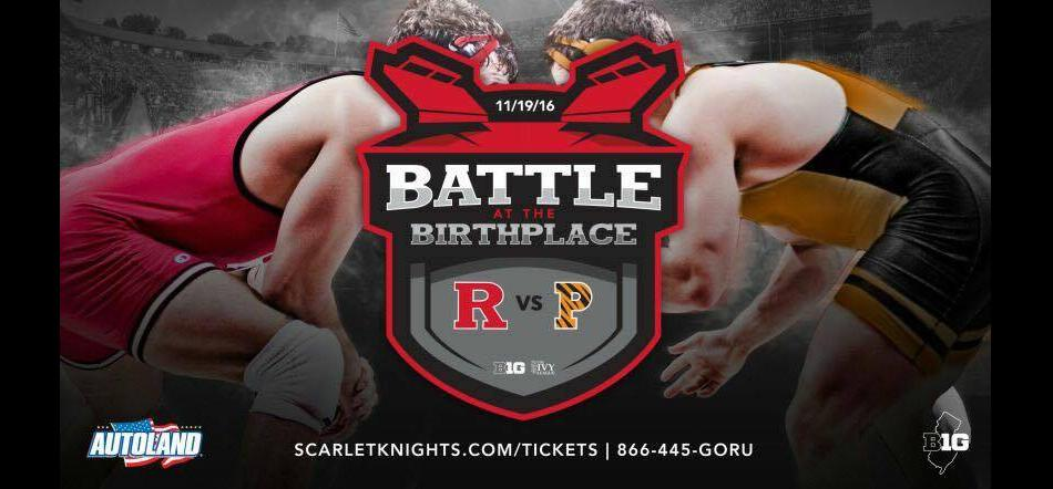 Battle at the Birthplace – Outdoor NCAA wrestling: Rutgers vs Princeton