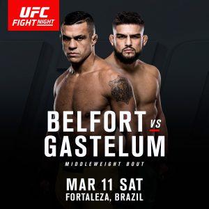 Kelvin Gastelum vs Vitor Belfort set for Fortaleza, Brazil