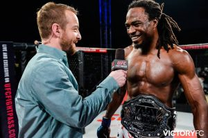 Jason Jackson wins the Victory FC welterweight title at VFC 48, Feb. 19, 2016