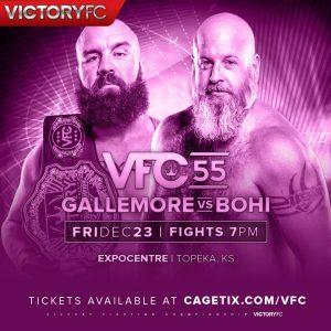 VFC 55, Daniel Gallemore, Battle of the Beards, Derek Bohi