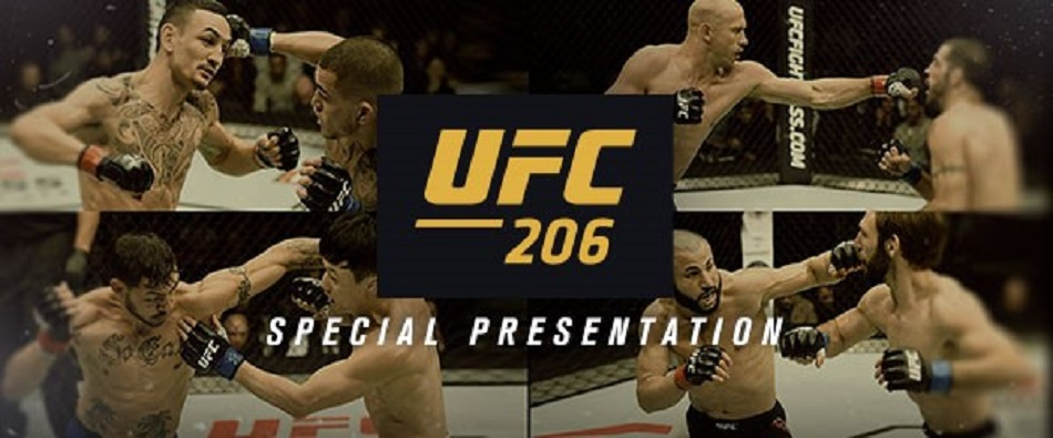 FOX to air special presentation of UFC 206 on Christmas Eve