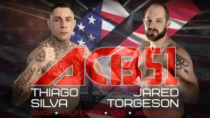 Thiago Silva headlines Absolute Championship Berkut 51, January 13