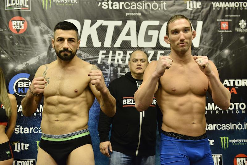 Middleweight Feature Fight: Claudio Annicchiarico (185.2) vs. John Salter (185.2)
