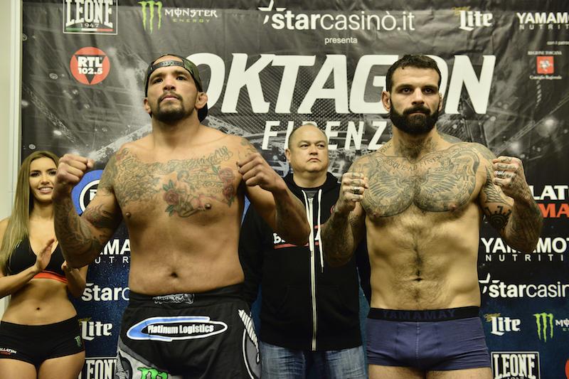Light Heavyweight Feature Fight: Joey Beltran (205.2) vs. Alessio Sakara (203.6)