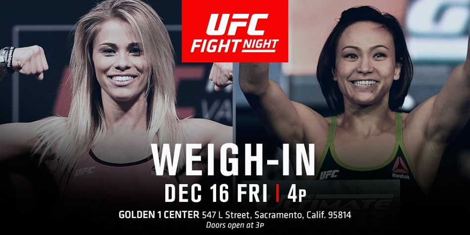 UFC on FOX 22 weigh-in results