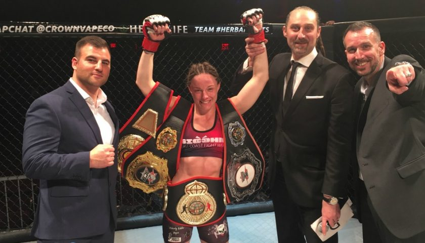 #1 P4P female fighter in New York, Jillian DeCoursey hoping for Invicta call