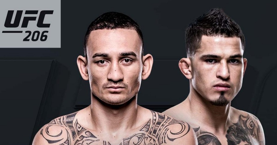 UFC 206 results - Max Holloway vs Anthony Pettis