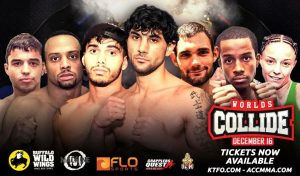 ACC & KTFO World's Collide Weigh-In Result's Streaming Live - 5 pm