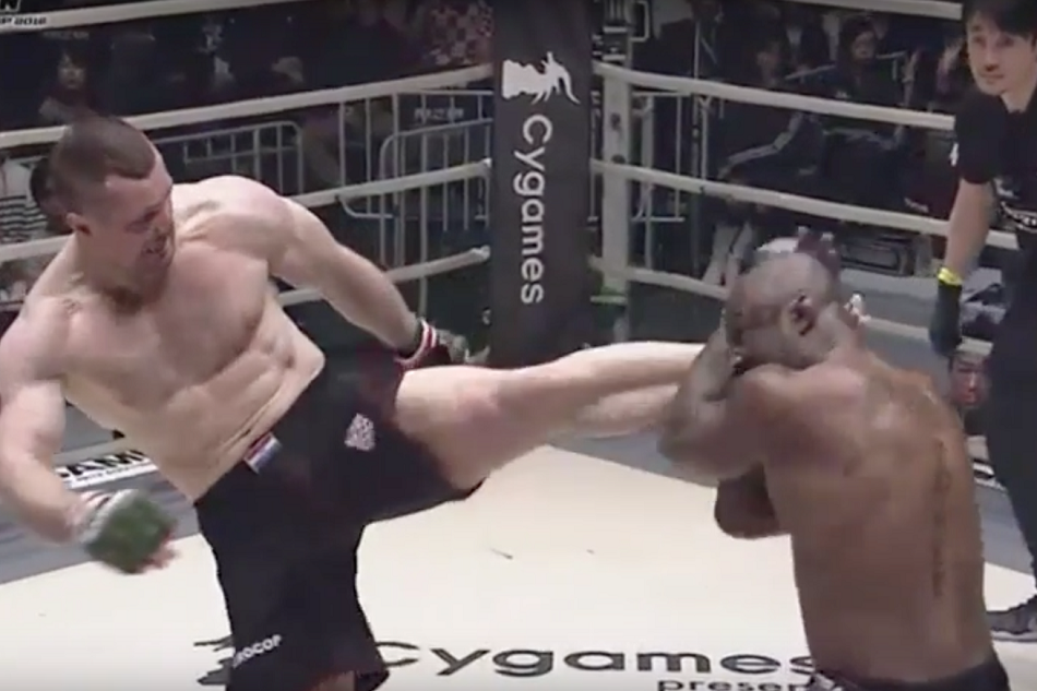 Rizin Grand Prix Open Weight 2016 results - Cro Cop crushes King Mo