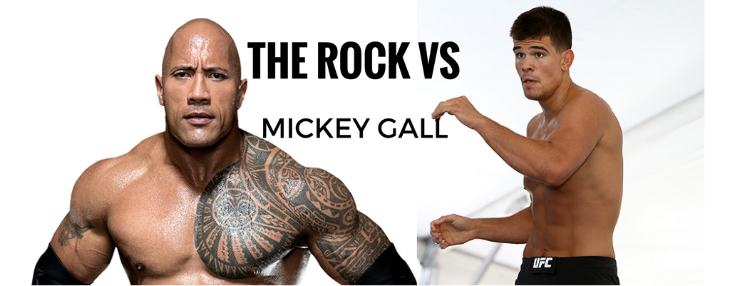 Mickey Gall:The Rock is dream opponent, Rock responds: Gall FutureChamp