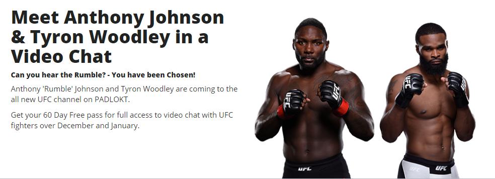 Meet UFC star on Padlokt