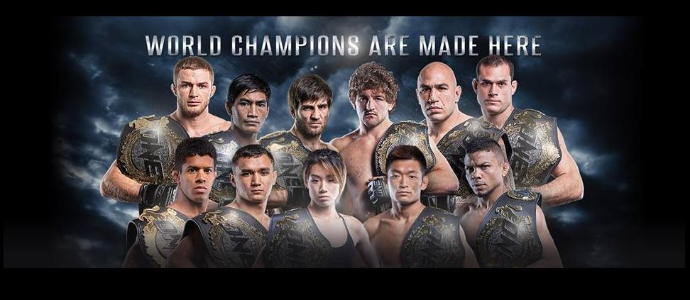 ONE Championship announces 18 events for 2017 calendar