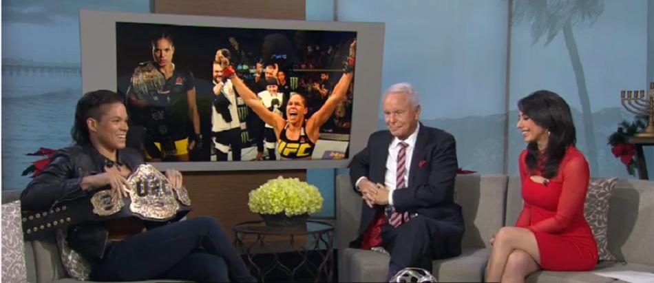 Amanda Nunes discusses UFC 207 fight against Ronda Rousey