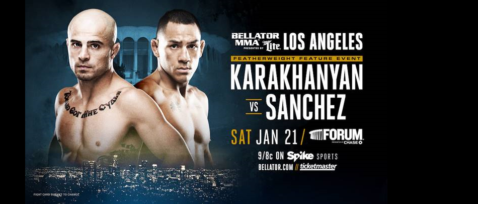 Georgi Karakhanyan vs. Emmanuel Sanchez Added to Bellator 170