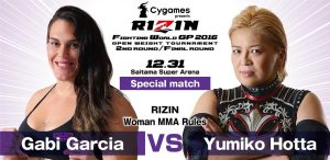 Gabi Garcia gets ANOTHER 50-year old opponent for RIZIN FF