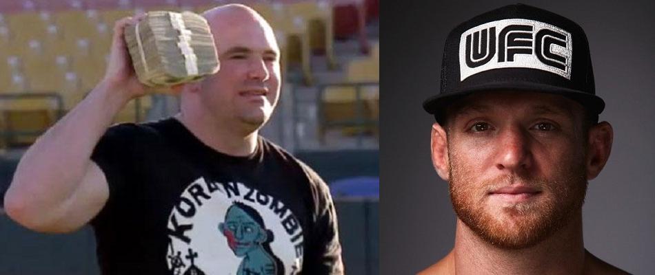 Dana White to Scott Holtzman:  Check your bank account