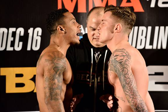 Featherweight Co-Main Event: Anthony Taylor (145.8 lbs.) vs. James Gallagher (145.6 lbs.)