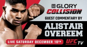 Alistair Overeem to Serve as Guest Analyst at GLORY: COLLISION on Dec. 10