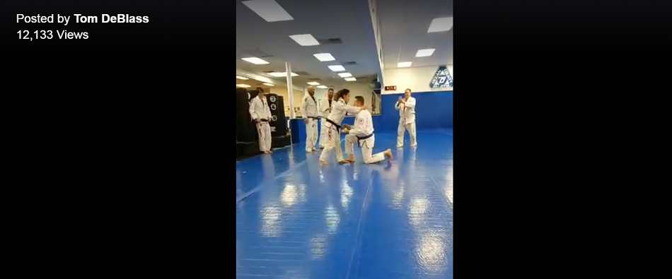 WATCH: Marriage proposal on the mat - OCBJJ students getting hitched
