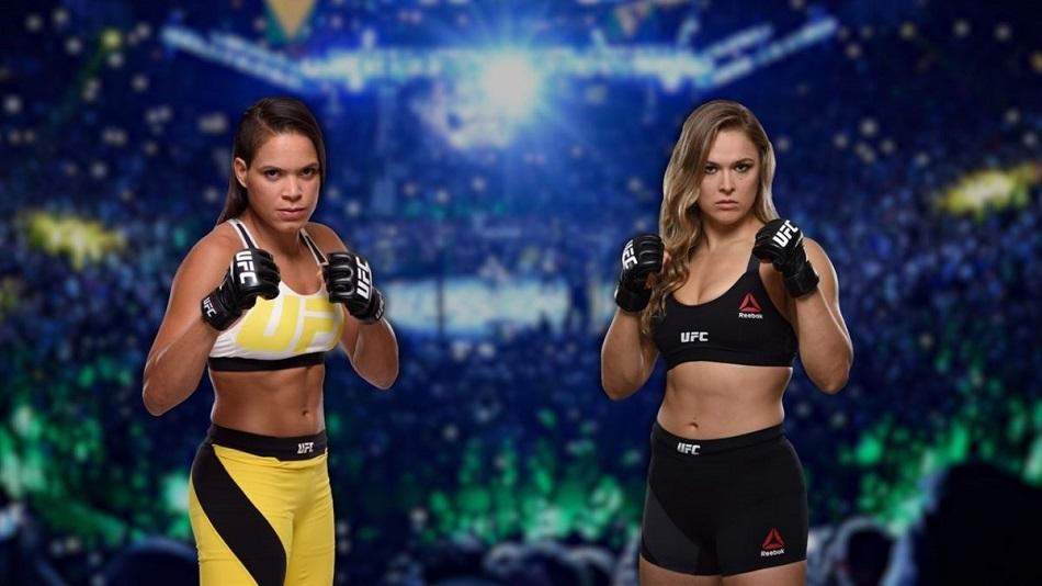 female fighters - UFC 207, UFC on FOX 22, Ronda Rousey, Amanda Nunes, Paige VanZant