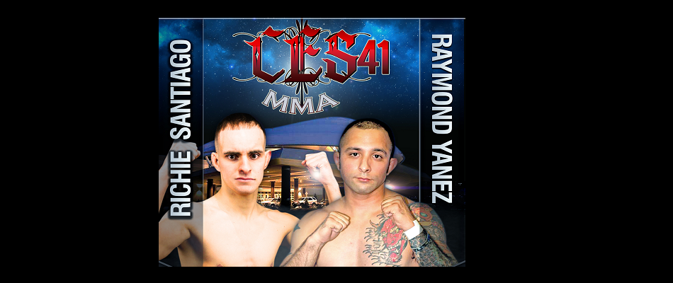 Richie Santiago and Raymond Yanez clash at CES 41 in January