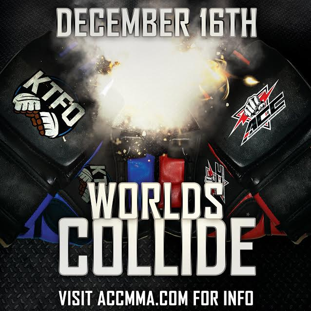 ACC & KTFO World's Collide Meet & Greet at BWW on Dec. 10th