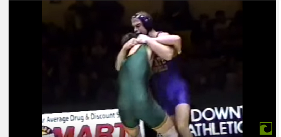 WATCH: Chael Sonnen pin Tito Ortiz in 44 seconds - college wrestling