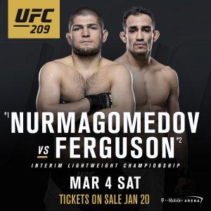 Khabib Nurmagomedov vs Tony Ferguson - UFC 209