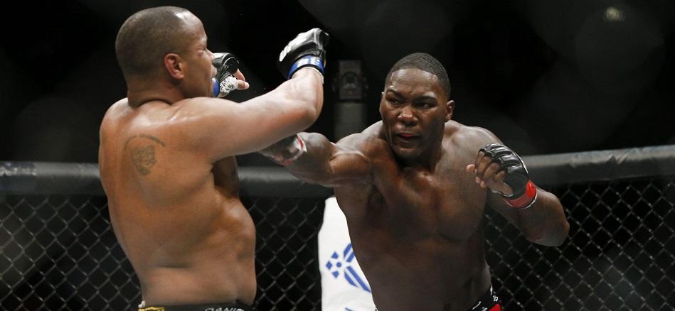 Daniel Cormier vs Anthony Johnson 2 rebooked to headline UFC 210