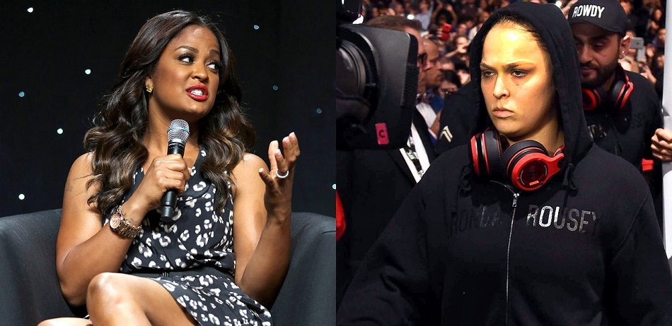 Former Boxing Champion Laila Ali comments on Ronda Rousey's UFC 207 loss