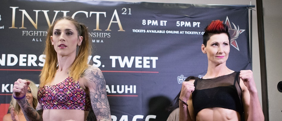 Invicta FC 21 Weigh-in Results, Video – One Fight Scratched