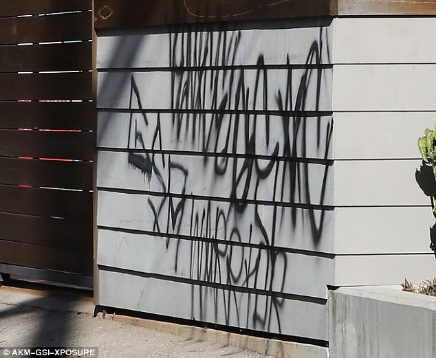 Ronda Rousey's Venice Beach home vandalized - photos