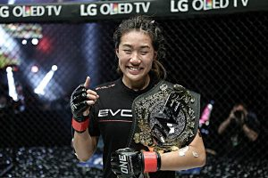 ONE Women's atomweight champ Angela Lee defends against Jenny Huang