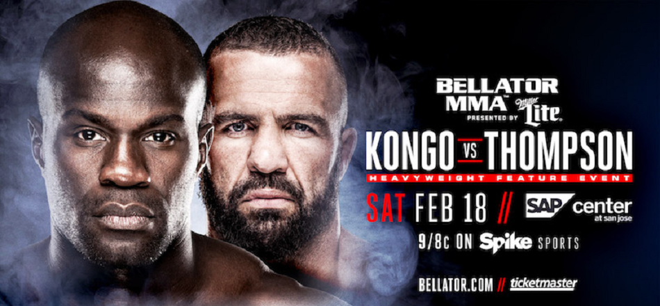 Cheick Kongo vs Oli Thompson added to Bellator 172