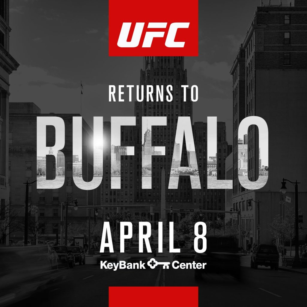 UFC returns to Buffalo, New York for first time since UFC 7