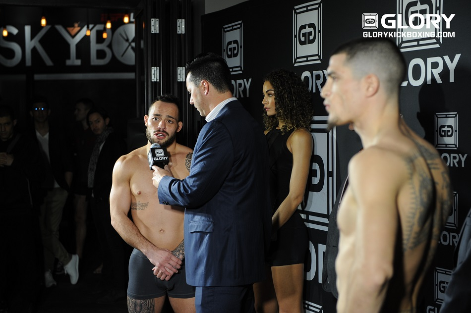 Robin van Roosmalen stripped of title at GLORY 37 weigh-ins