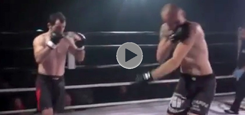 #ThrowbackThursday - Fighter dislocates shoulder, opponent pops it back in