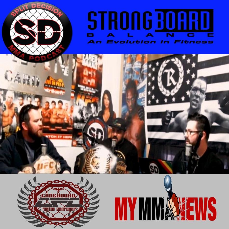 Split Decsion MMA Podcast - Rich Treas in studio, Goldberg statement, more