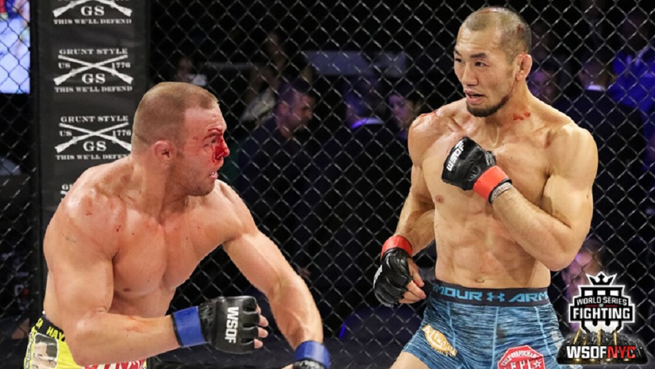 Yushin Okami vs Paul Bradley - WSOFNYC