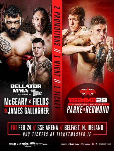 James Gallagher and Sinead Kavanagh Added to Bellator 173 in Belfast