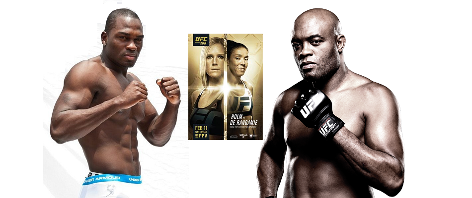 Anderson Silva returns, takes on Derek Brunson at UFC 208 in Brooklyn